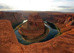Big Bend on the Colorado River, Arizona, USA.